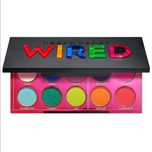 Urban Decay Wired Eyeshadow Palette, Ten Shades